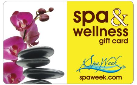 Spa & Wellness Gift Card by Spa Week